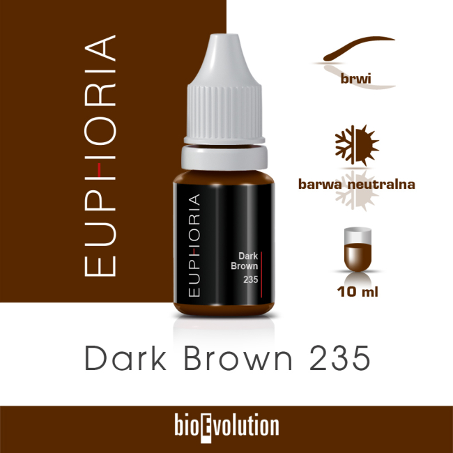 Dark Brown 235 - Euphoria - 10 ml
