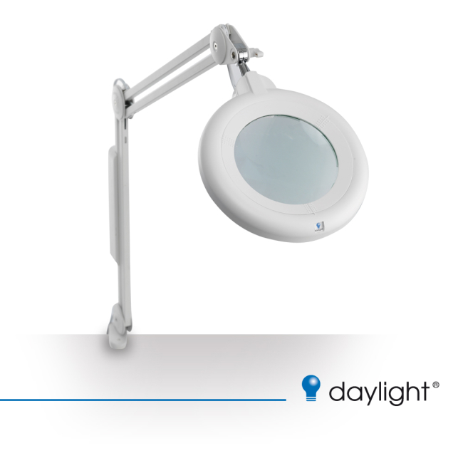Lampa - lupa SLIM LINE LED Magnifying Lamp