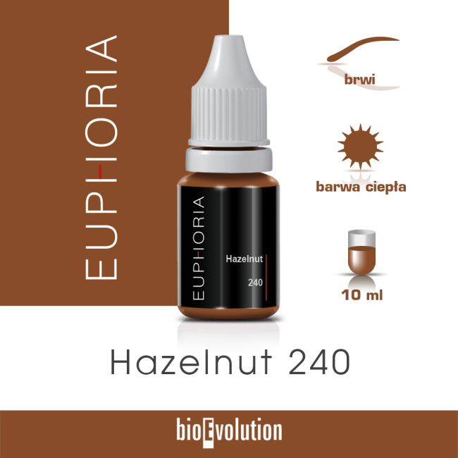 Hazelnut 240 - Euphoria - 10 ml