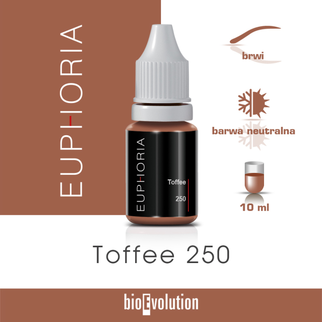 Toffee 250 - Euphoria - 10 ml