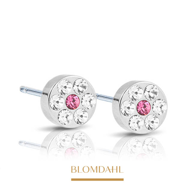Brilliance Plenary Crystal/ Rose 5 mm SFJ