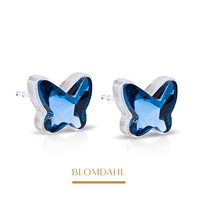 Butterfly Aquamarine 9 mm SFJ