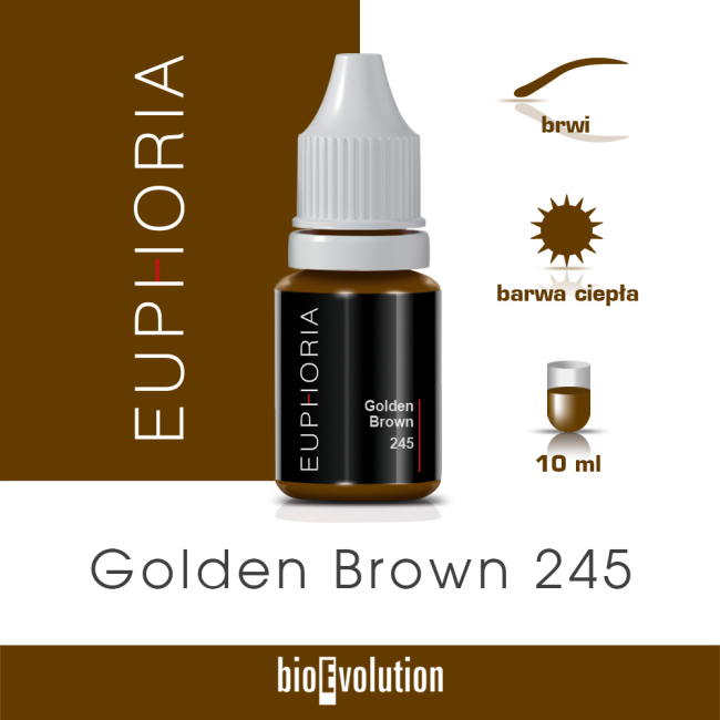 Golden Brown 245 - Euphoria - 10 ml
