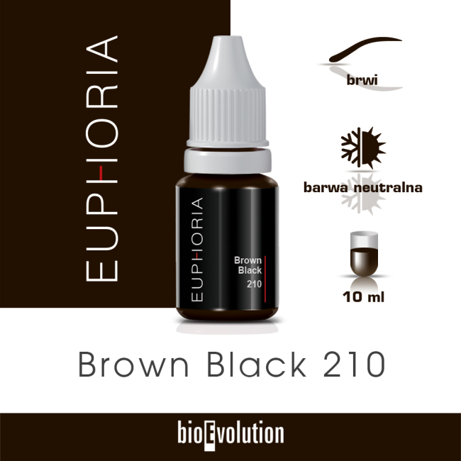 Brown Black 210 - Euphoria - 10 ml