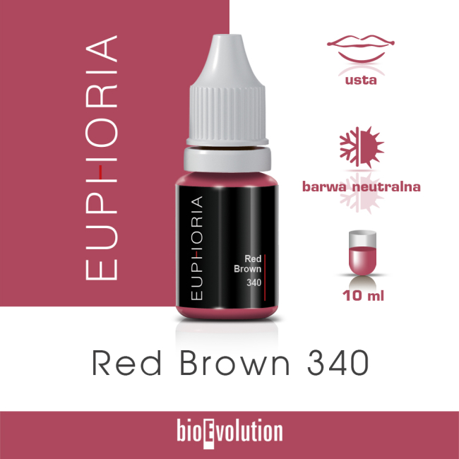 Red Brown 340 - Euphoria - 10 ml