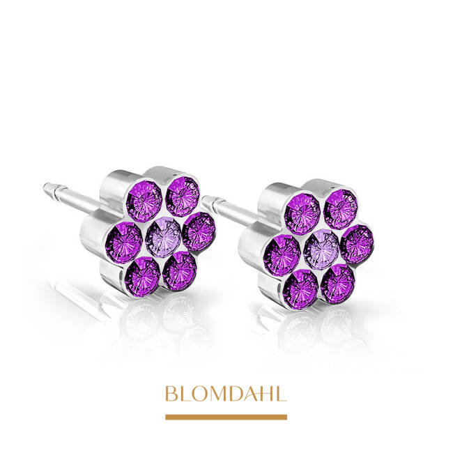 Daisy Amethyst/ Light Amethyst 5 mm SFJ