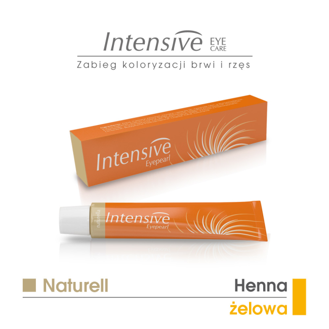 NATURELL - henna żelowa INTENSIVE 20 ml