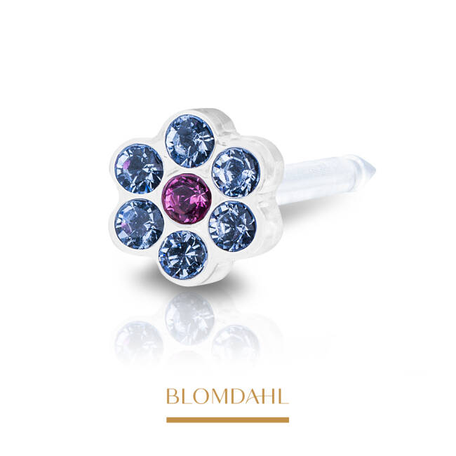 Daisy Alexandrite/ Rose 5 mm