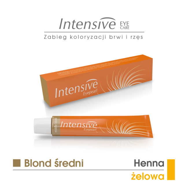 BLOND ŚREDNI - henna żelowa INTENSIVE 20 ml